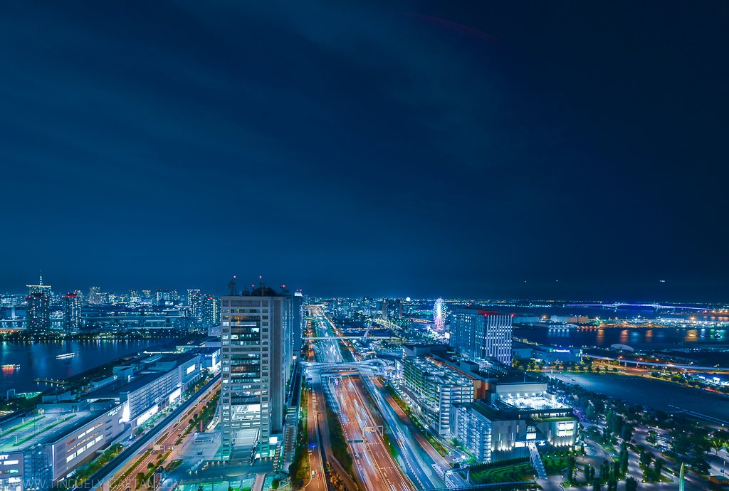 tokyo lanscape by night